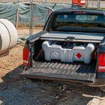 Mobilná nádrž na naftu DT-MOBIL 210 litrov, 12V PICK-UP bez poklopu