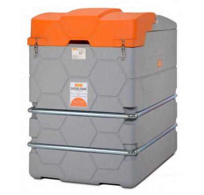 Dvojplášťová nádrž na naftu CUBE Basic 1500 litrov