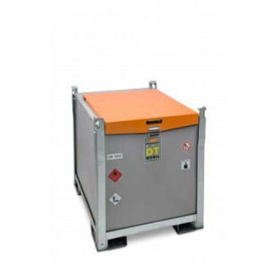 Mobilná dvojplášťová nádrž na naftu DT-MOBIL PRO PE 980 litrov, 12V/24V