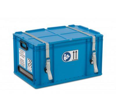 Bezpečnostná nádoba na batérie.