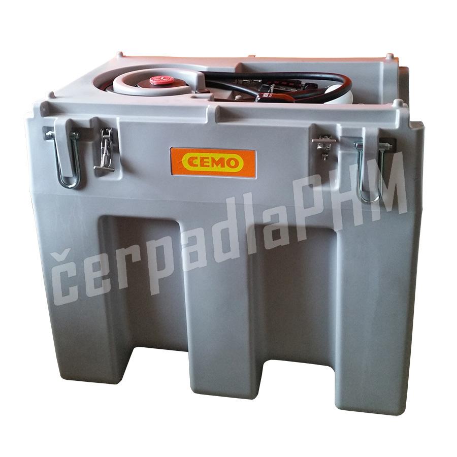 Mobilná nádrž na naftu DT-MOBIL 600 litrov, 12V bez veka