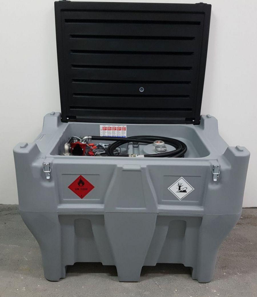 Mobilná nádrž na naftu 330 l CARRY PICK-UP - 12V