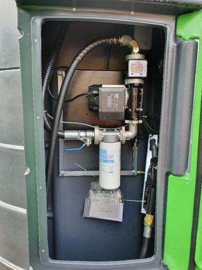 Dvojplášťová plastová nádrž na naftu FuelMaster® 4000 l