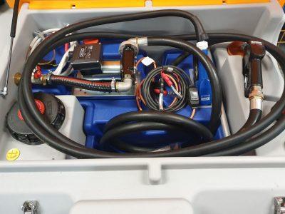 CEMO kombinovaná mobilná nádrž na naftu a AdBlue DT 850/100 L - 12V /24V