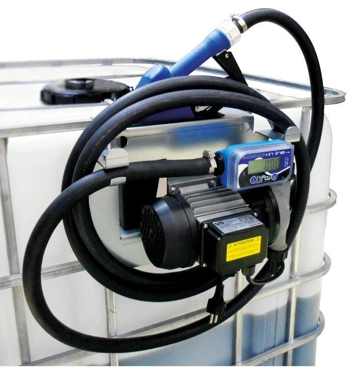 IBC nádrž na AdBlue 1000 litrov+ výdajná zostava X-BLUE AUTOMAT