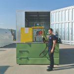 SECURE BOX - Nádrž + kontajner na uzamknutie nádrže 1300-9000 litrov