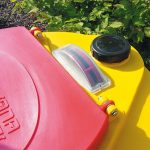 Dvojplášťová nádrž na použité rastlinné oleje - 300l