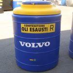 Dvojplášťová nádrž na použité odpadové oleje - 500l