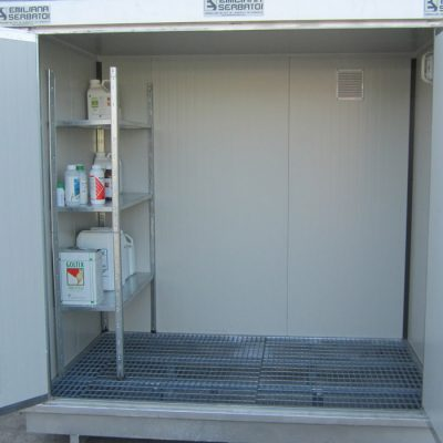 EKO kontajner na skladovanie pesticídov BN1 s izoláciou