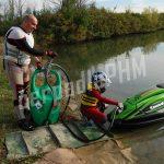 Mobilná nádrž 55 litrov – ručné rotačné čerpadlo