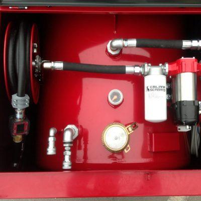 Dvojplášťová oceľová nádrž na naftu TANK TUBE 960 litrov