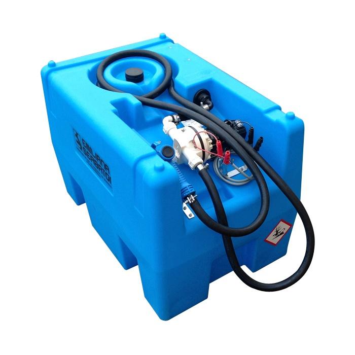 Mobilná nádrž na AdBlue 220 litrov 12V, 24V, 230V bez veka