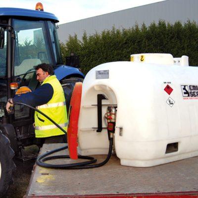 Mobilná nádrž na naftu HIPPOTANK 980 litrov, 230V