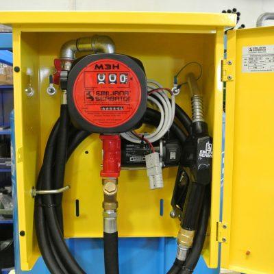 Mobilná nádrž na naftu TRASPO® 910 litrov -12V