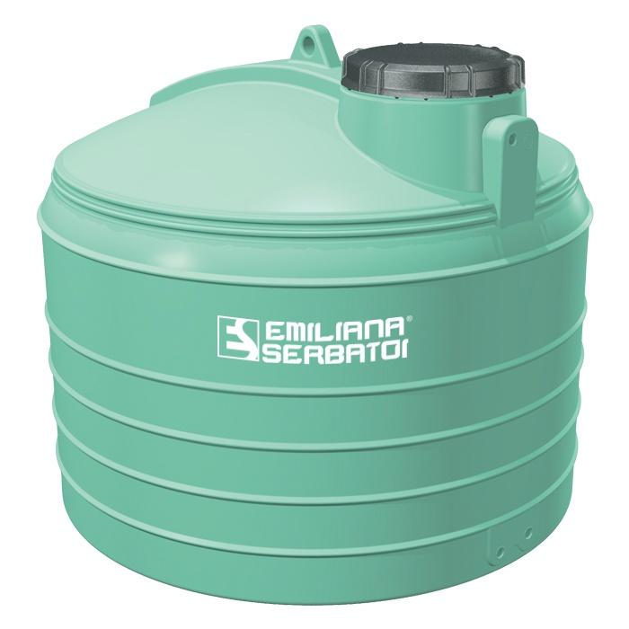 Polyetylénová nádrž na vodu 3000 litrov -stojatá model PAN