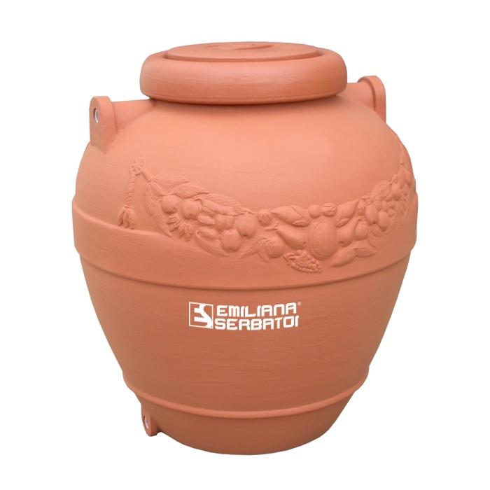 Dekoratívna nádrž na vodu 500 litrov