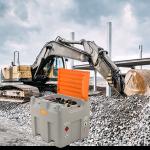 Mobilná nádrž na naftu DT-MOBIL 980 litrov, 230V PREMIUM / NAVÍJAČ