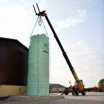 "Agrimaster - jednoplášťová nádrž na DAM 28000 litrov, 2"" spodné výpustné hrdlo"