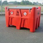 Mobilná nádrž na olej 440L – el.čerpadlo 12V