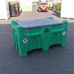 Mobilná nádrž na benzín 330L - el.čerpadlo 12V ATEX