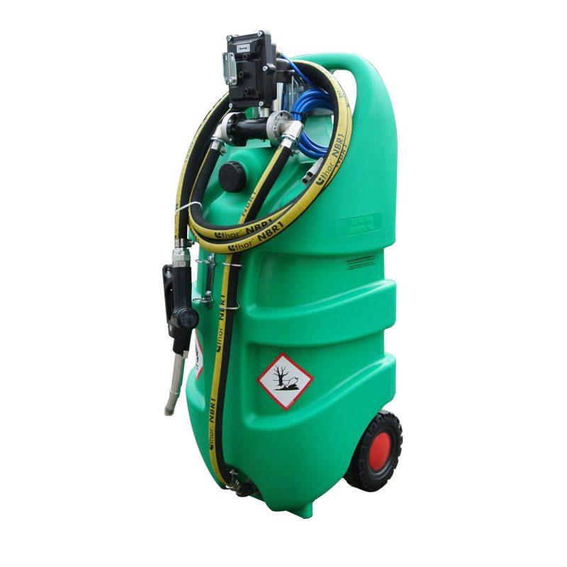 Mobilná nádrž 110 litrov – el.čerpadlo 12V ATEX