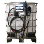 Nádrž IBC 1000 litr. + výdajná zostava WALLTECH 40l/min - 12V