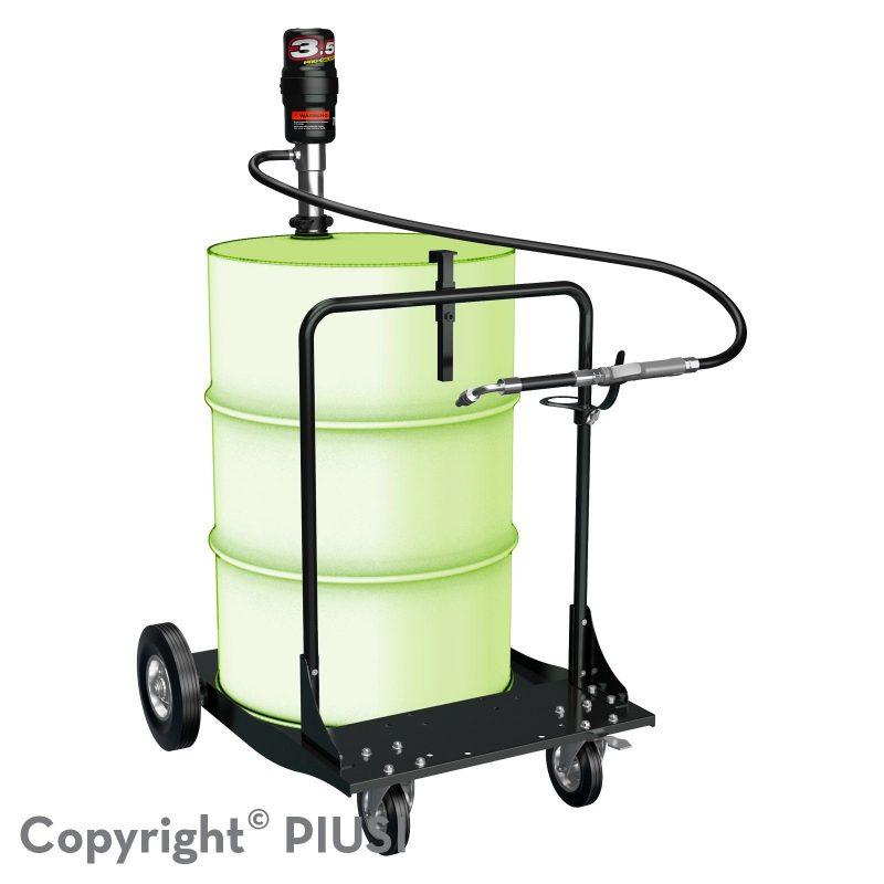 OIL CART KIT pneumatická zostava na olej 3.5 : 1 bez merača
