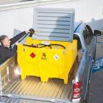 Mobilná nádrž na naftu 440 l CARRY PICK-UP - 12V