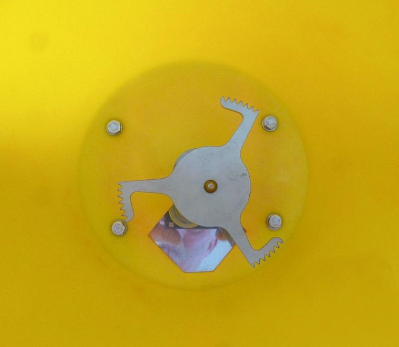 Excentrický miešač pre zle prúdiacu soľ a zrná pre vozíky SW 20, SW 35 a SW50