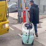 Postrekovač aj na dezinfekciu 110 litrov - el.čerpadlo 12V BATERY