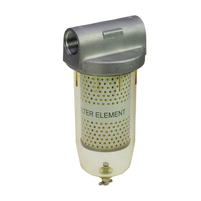 ES filter s vodným separátorom 5Mic-prietok 70l/min, 2x kartuša