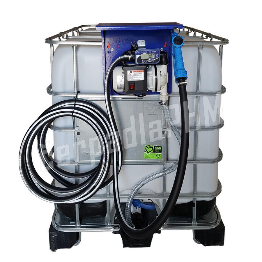 IBC nádrž na AdBlue 1000 litrov+ výdajná zostava BLUETECH AUTOMAT