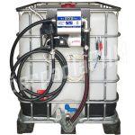 Nádrž IBC 600 litr. + výdajná zostava WALLTECH 85l/min - 12V