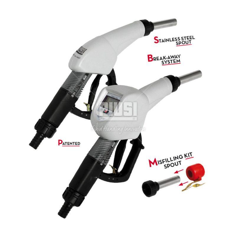 Výdajná pištoľ AdBlue AUTOMAT SB325 s prietokomerom