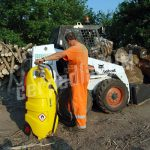 Mobilná nádrž na naftu 110L – ručné rotačné čerpadlo