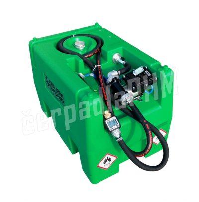 Mobilná nádrž na benzín 220L - el.čerpadlo 230V ATEX