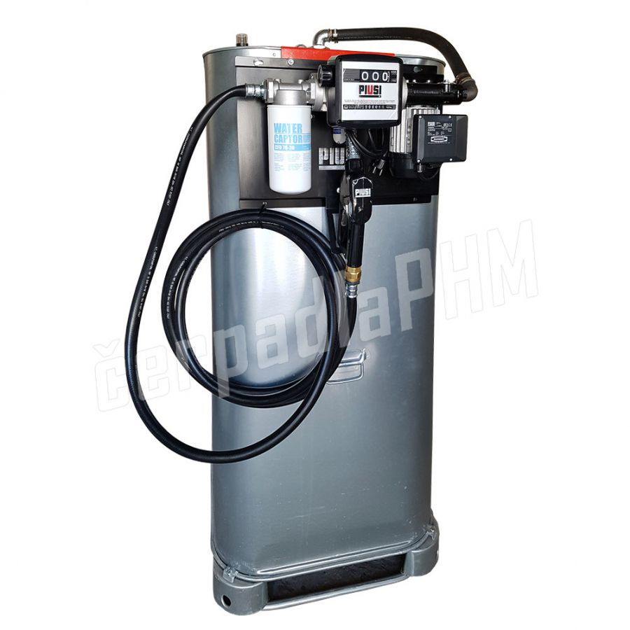 Dvojplášťová nádrž 1000 litrov + výdajná zostava Panther 60l/min -230V