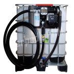 Nádrž IBC 600 litrov+ výdajná zostava Panther 72l/min DIG - 230V