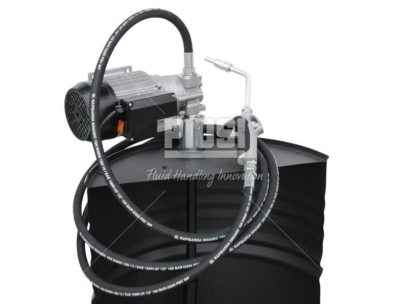 Sudová zostava na oleje PIUSI DRUM Viscomat 200/2 -230V,zubové čerpadlo s meračom