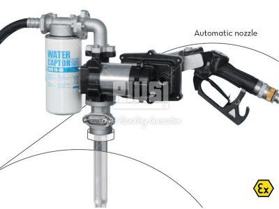 Sudová zostava na benzín PIUSI DRUM EX50 bez prietokomera 230V