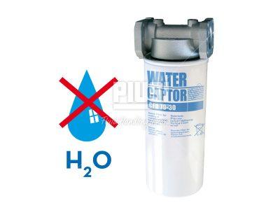 Filter s vodným separátorom 30Mic - 70l/min +hlava filtra
