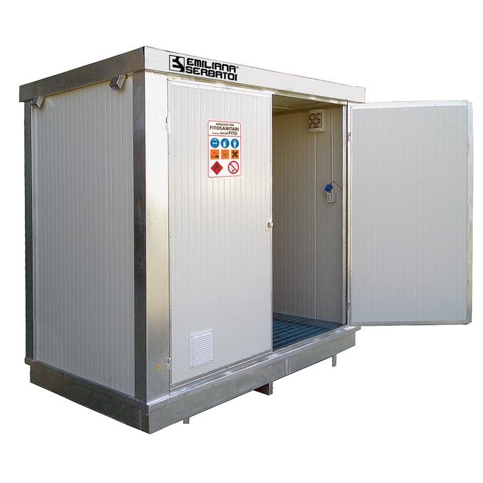 EKO kontajner na skladovanie pesticídov BN2 s izoláciou