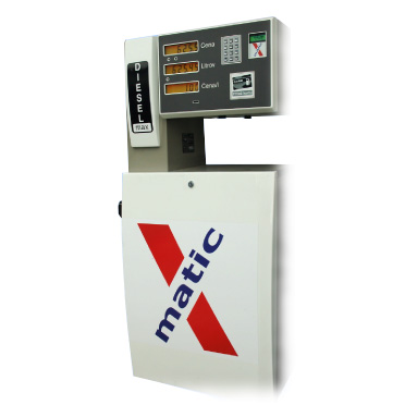 Výdajný stojan na naftu X-matic ČIP