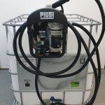 IBC nádrž na AdBlue s výdajnou zostavou SUZZARA Blue 3